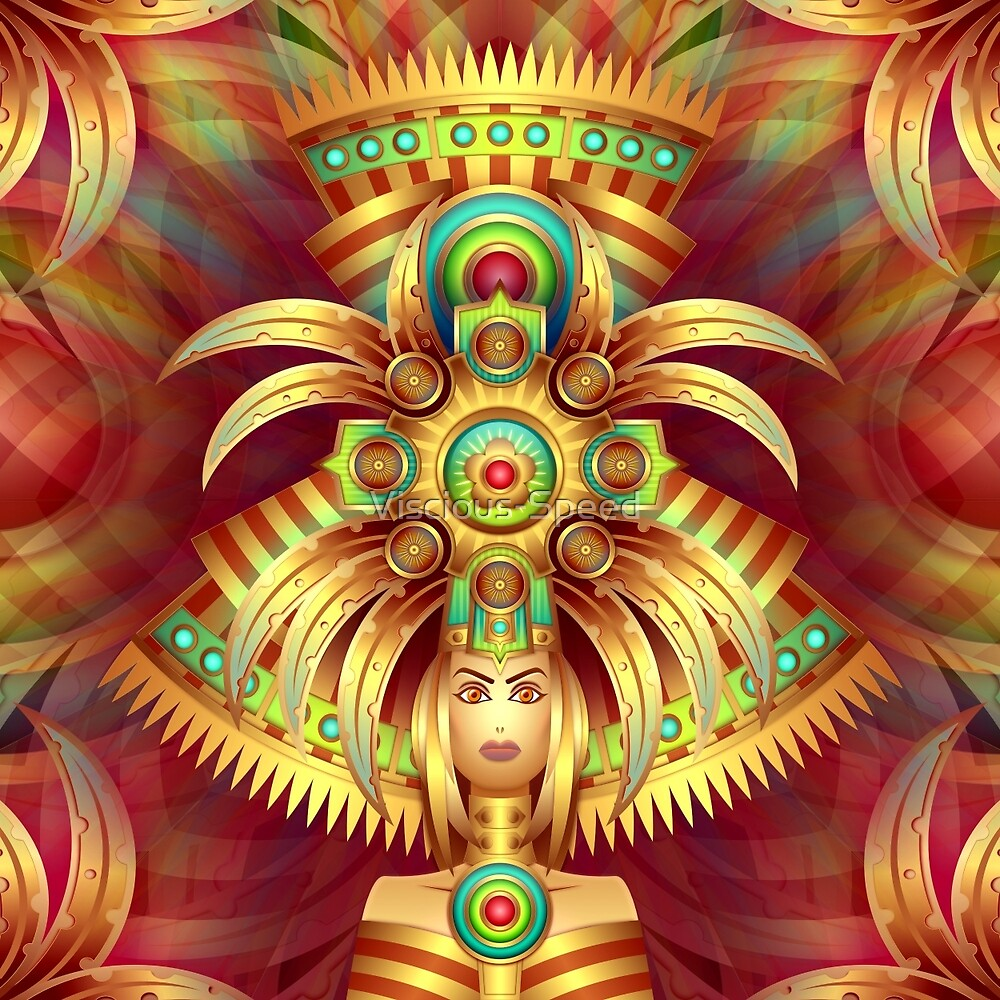My HeadDress Is The Mutha by Viscious-Speed