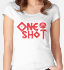 ONE SHOT Women's Fitted Scoop T-Shirt