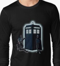 He Will Send You To The Past Long Sleeve T-Shirt