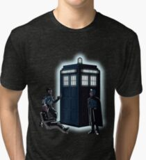 He Will Send You To The Past Tri-blend T-Shirt