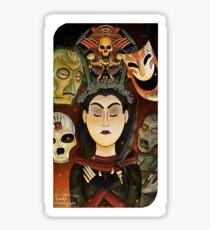 Listener Tarot Card Sticker