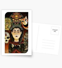 Listener Tarot Card Postcards