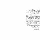 Psalm 107 paraphrased handwritten by Melissa Goza