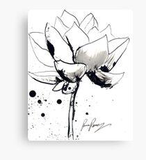 Lotus (Spots)  Canvas Print