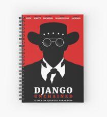 Django Unchained film poster Spiral Notebook