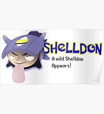 A wild Shelldon appears! Poster