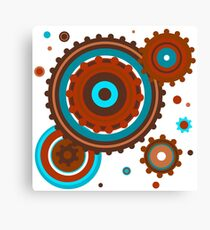 Strong Graphic Fun Image for Men or Women Canvas Print