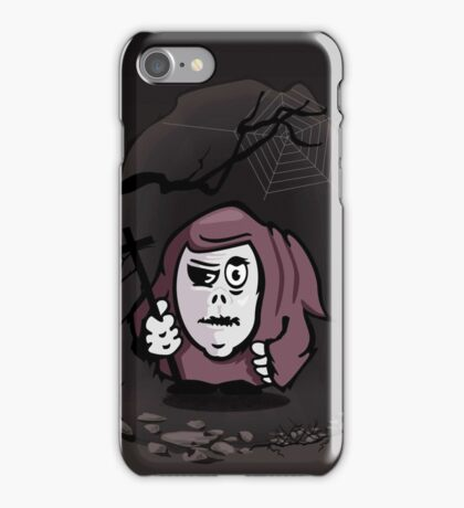 Monk in a Cave VRS2 iPhone Case/Skin