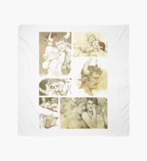 The Satyr and the Bull Scarf