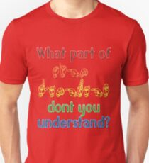 What Part of Sign Language Don't You Understand T-Shirt