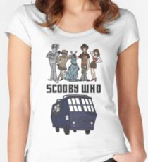 Scooby Who Women's Fitted Scoop T-Shirt
