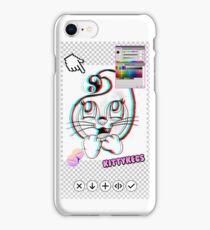 Cat thing iPhone Case/Skin