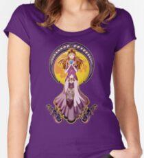 Beautiful zelda Women's Fitted Scoop T-Shirt