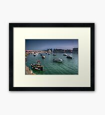 Margate Harbour From The Harbour Arm Framed Print