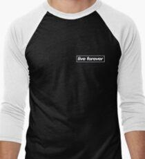 Oasis Live Forever Men's Baseball ¾ T-Shirt
