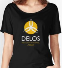 Delos Women's Relaxed Fit T-Shirt