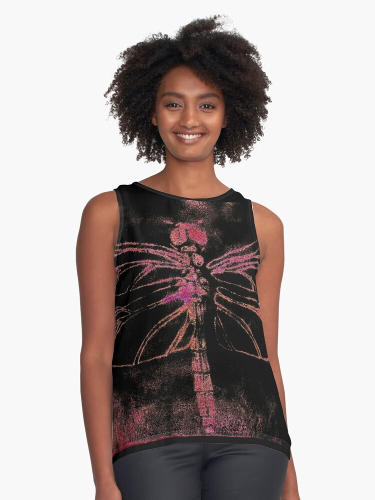 Dragonfly Contrast Tank Front