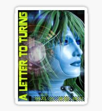 A Letter To Turing Sticker