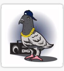 Hip Hop Pigeon Sticker