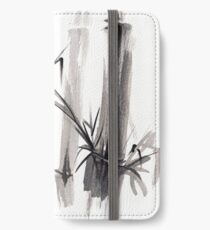 'after the rain' Original ink wash painting iPhone Wallet/Case/Skin