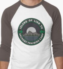 Island of Lian Yu - Archery Training Camp Men's Baseball ¾ T-Shirt