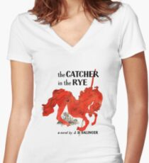 The Catcher In The Rye Women's Fitted V-Neck T-Shirt