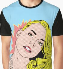 Billie Piper POP art Graphic T-Shirt