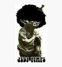 Yoda Jedi Pimps Photographic Print