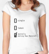 BTS - Mentally Dating Rap Monster T-shirt échancré