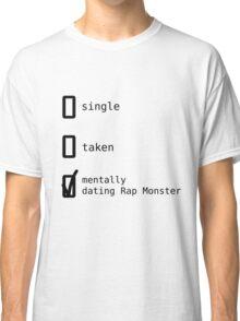 BTS - Mentally Dating Rap Monster T-shirt Classique