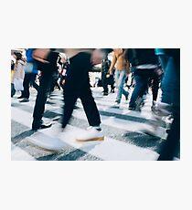 Shibuya Blur Photographic Print