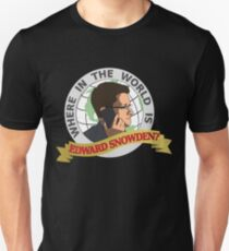 Where in the World is Edward Snowden? T-Shirt