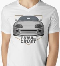Tuna no crust Men's V-Neck T-Shirt