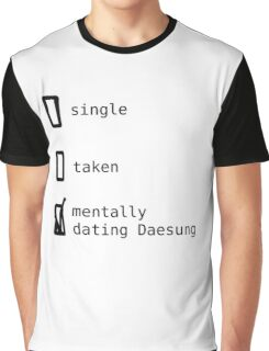 BIGBANG - Mentally Dating Daesung T-shirt Graphique