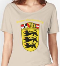 Baden Wurttemberg Coat Of Arms Women's Relaxed Fit T-Shirt