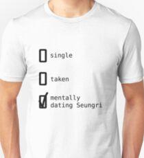 BIGBANG - Mentally Dating Seungri T-shirt unisexe