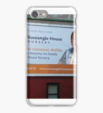 Billboard iPhone Case/Skin