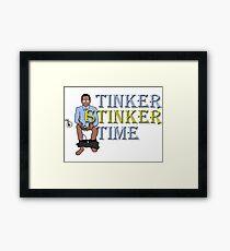 Tinker Stinker Time Framed Print