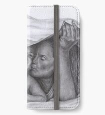 Castle and Beckett - Morning kisses iPhone Wallet/Case/Skin