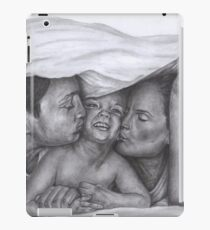 Castle and Beckett - Morning kisses iPad Case/Skin