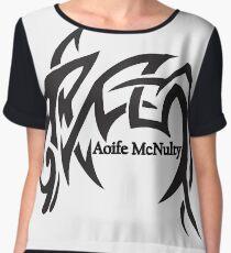 Aoife McNulty Logo Chiffon Top