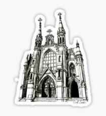 Cathedral of Saint Paul, Birmingham AL Sticker