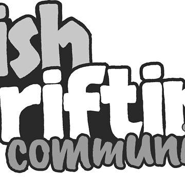 Irish Drifting Community - Grey Logo by madebyluddy