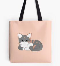 Clio Cat Loaf - Peach Tote Bag