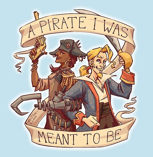 A Pirate I Was Meant To Be by TariToons