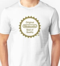 Camiseta unisex Sello original de calidad de Nintendo