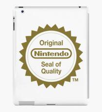 Nintendo Original Seal of Quality iPad Case/Skin