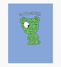 You Little Monster !!!!! Photographic Print