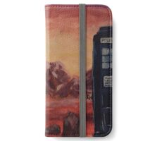 Gallifrey Watercolour iPhone Wallet/Case/Skin