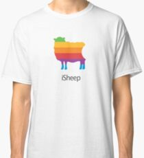 iSheep Apple logo spoof Classic T-Shirt